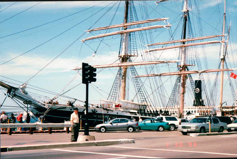 Star Of India - Port of San Diego, CA  3-30-96
