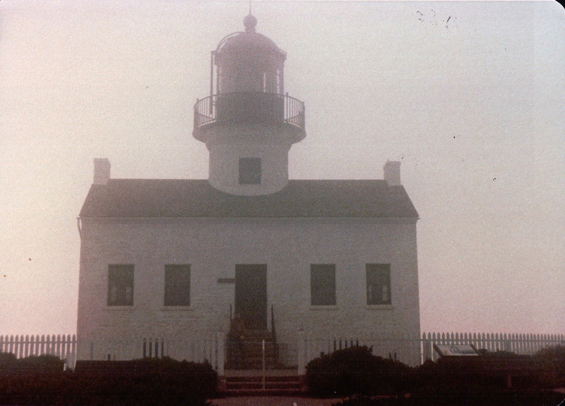 Old Point Loma Lighthouse & Museum - San Diego, CA - 1/30/86