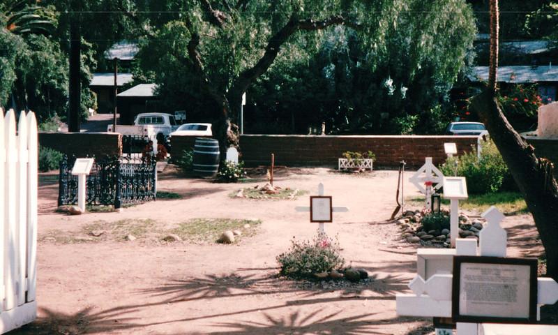 Graveyard - Old Town - San Diego, CA  3-30-96