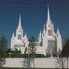 Mormon Temple - La Jolla, CA  4-1-96