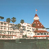 View From Beachside (Rear) - Del Coronado Hotel, Coronado, CA  3-30-96