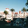 Courtyard Area - Del Coronado Hotel, Coronado, CA  3-30-96