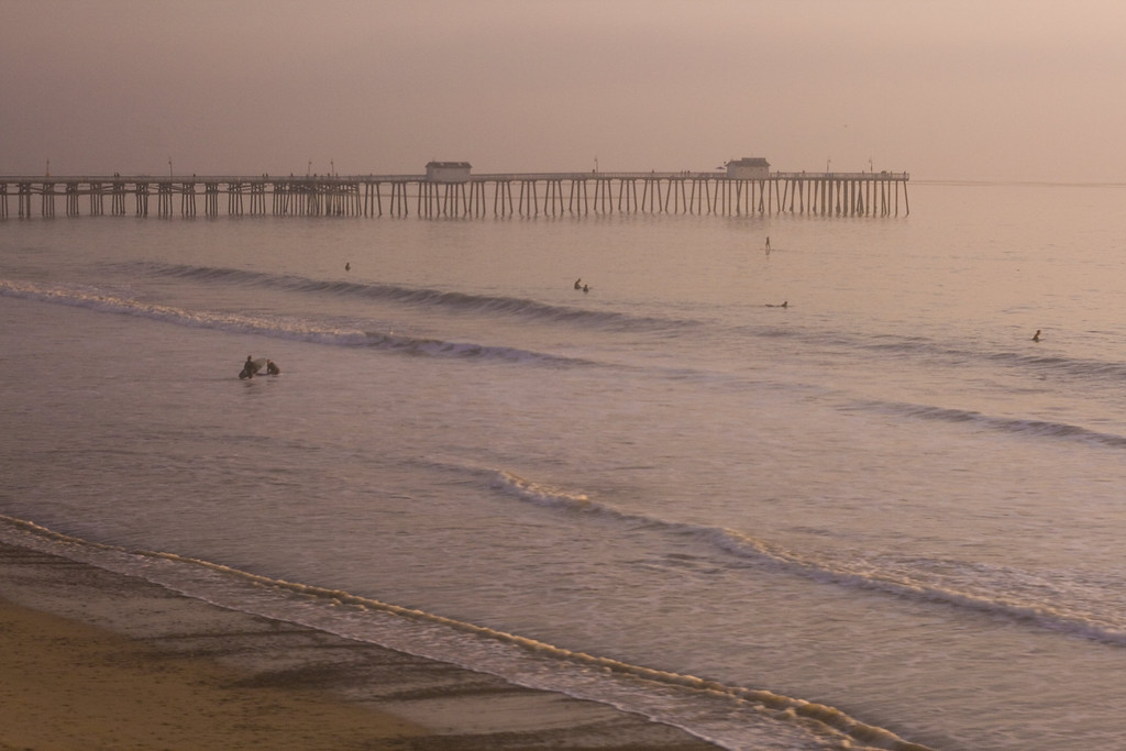 San Clemente Pier, CA.  Image Copyright 2011-12 by DJB.  All Rights Reserved.