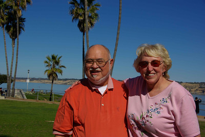 With janet at La Jolla