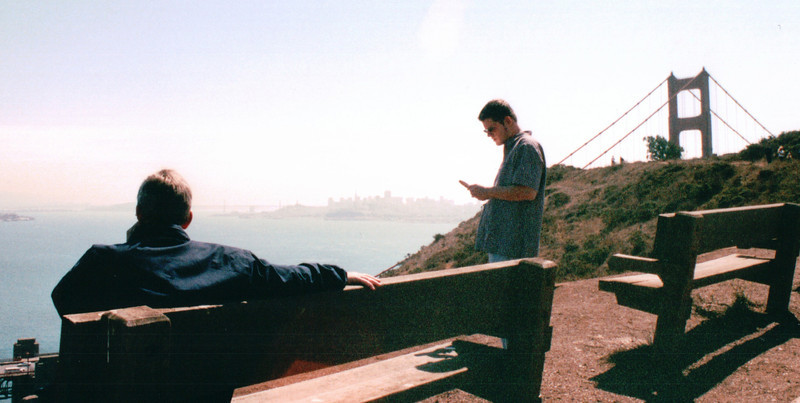 On The Other Side of Golden Gate Bridge - San Francisco, CA  9-8-03