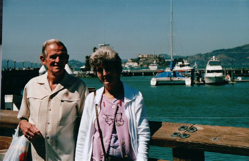 Charlie and Louise Allred - Pier 39 -Nature's Sunshine Convention - San Francisco, CA  9-5-03
