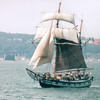 Ship at Sea on Way to Alcatraz - San Francisco, CA  9-7-03