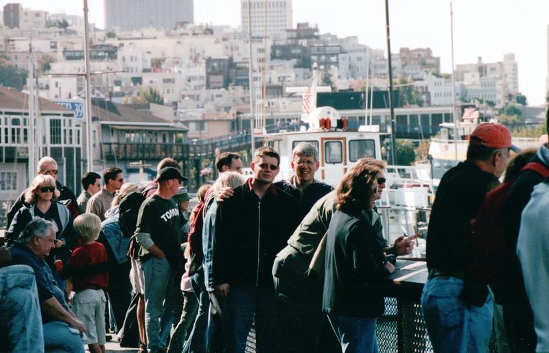Randal and Ben on Pier 39 - San Francisco, CA  9-7-03