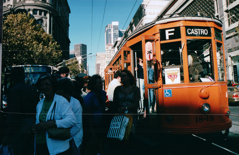 Street Car - Nature's Sunshine Convention - San Francisco, CA    9-5-03