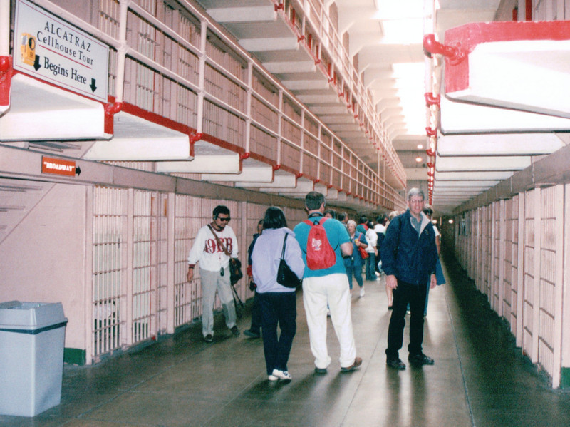 Randal Inside Alcatraz - San Francisco, CA  9-7-03