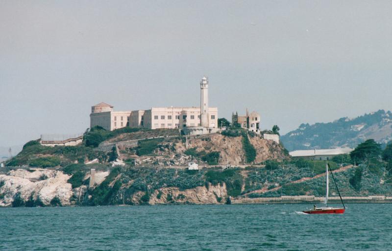 View of Alcatraz -  San Francisco, CA  9-7-03