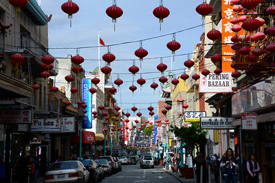 Chinatown - San Francisco - California - USA