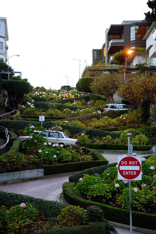 California Travel Photography - San Francisco - Lombard Street