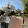 With Cara on Lombard St (the curviest street in the world), San Francisco, Feb 2011.