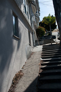 Steep Streets and Steps!