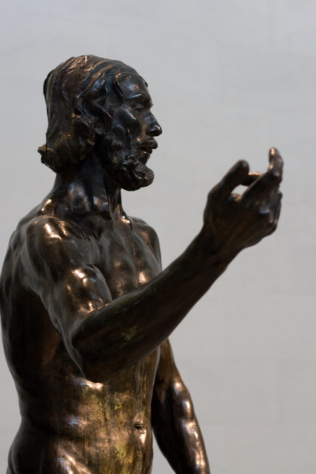 """St. John the Baptist Preaching"" (1848) by Auguste Rodin (1840-1917).<br /> Image Capture Copyright 2010 by DJB.  All Rights Reserved."