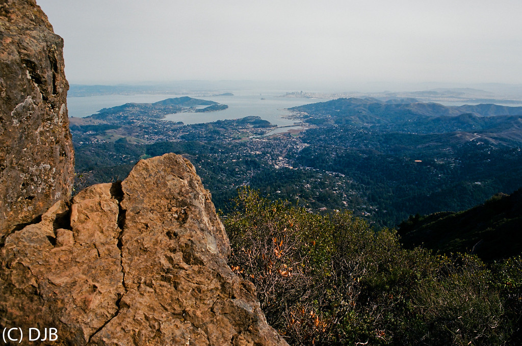 "View from Mt Tamalpais , Marin County, CA.   Image Copyright 2014 by DJB.  All Rights Reserved.   <a href=""http://www.DaveXMasterworks.com"">http://www.DaveXMasterworks.com</a>,  <a href=""http://www.facebook.com/DaveXMasterworksPhoto"">http://www.facebook.com/DaveXMasterworksPhoto</a>.  Film Processing & Scanning by North Coast Photo Services."
