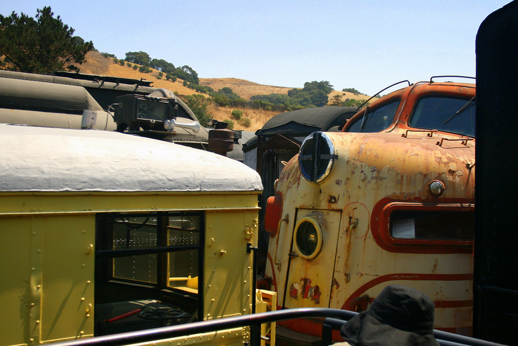 Niles Canyon Railway, Fremont and Sunol, CA.  Image Copyright 2009 by DJB.  All Rights Reserved.