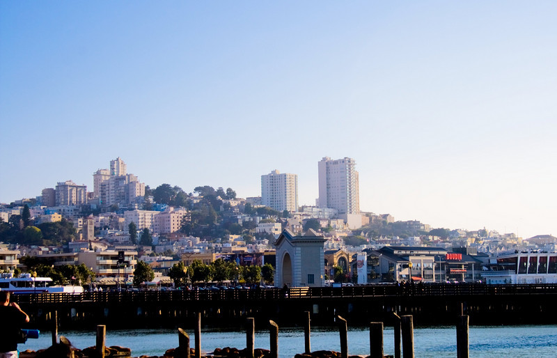 Fisherman's Wharf, San Francisco, CA. Image Copyright 2009 by DJB.  All Rights Reserved.