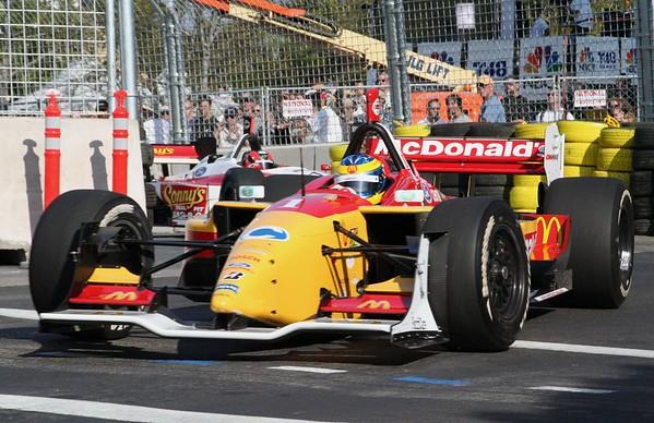 Sebastien Bourdais - Winner of the First San Jose Grand Prix