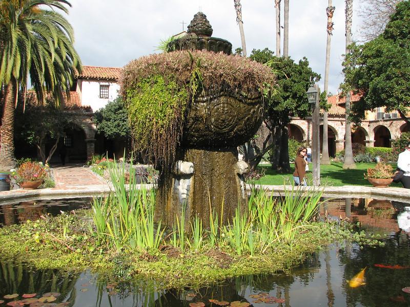 Courtyard Fountain - Mission San Juan Capistrano