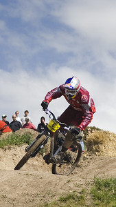 Mountain Bike Dual Slalom.