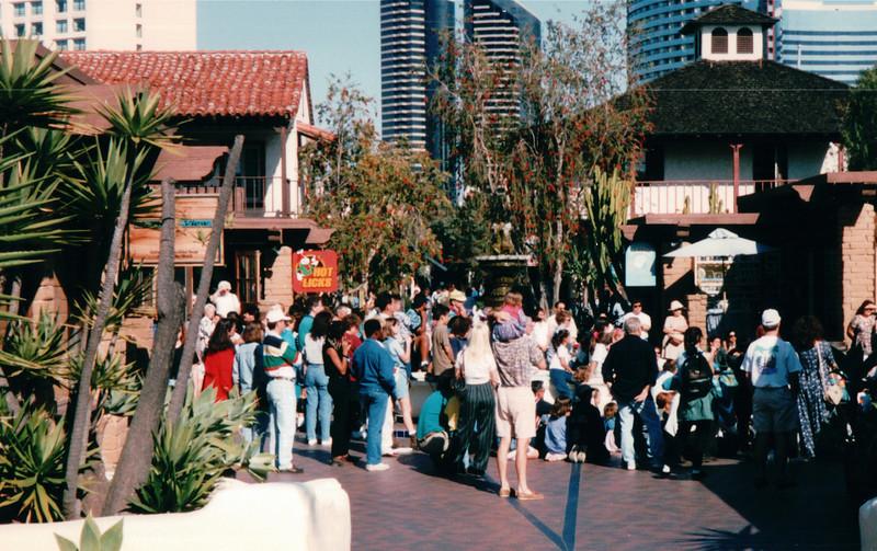 Seaport Village - San Diego, CA  3-31-96