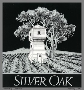 Twice a year, SilverOak releases its new Cabernet (Napa Valley in February, Alexander Valley in August).  Silver Oak Winery