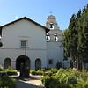 The San Juan Bautista Mission.