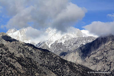 Snow covered Mt. Whitney
