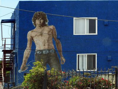 Jim Morrison  mural 2010