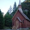 Chapel inside Yosemite.