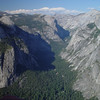 View of Yosemite Valley from Glacier Point.