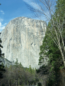 El Capitan, the world's largest granite monolith.