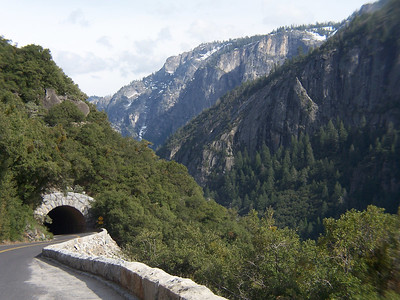 One of the valley's tunnels