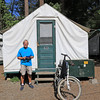 2019-06-13_135_Yosemite_Curry Village_Tent Cabin_Tony.JPG<br /> <br /> Our only option for staying inside Yosemite was a tent cabin in Curry Village, so we embraced the experience!