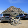2019-06-22_592_Morro Bay_Bikes.JPG<br /> <br /> This is how we roll - bikes come out of the van and off we go.  Morro Bay has lots of great bike trails all along the coast, nice and flat for us oldies!