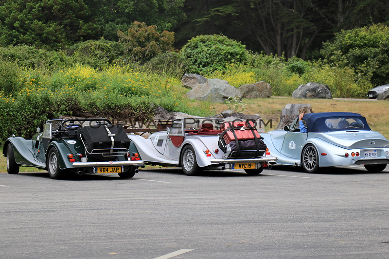 2019-06-21_448_Morgans_Aero Cars.JPG<br /> <br /> We kept running into these guys everywhere.  Fun way to travel the coast!