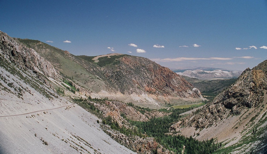 Looking East from Tioga Pass