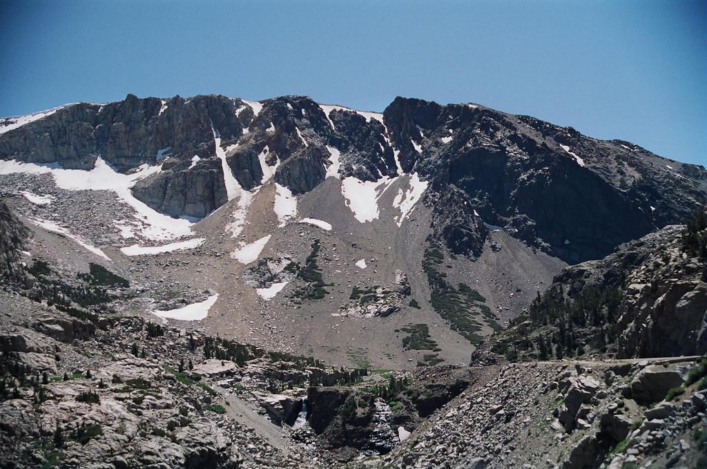 Tioga Pass westbound into Yosimite