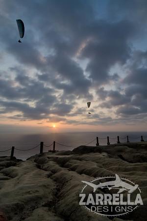 La Jolla Beach Sunset (San Diego, California)