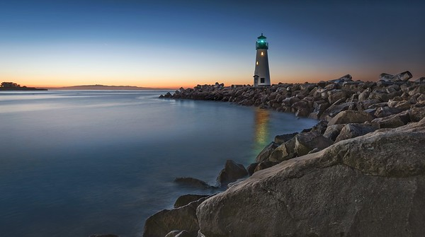 Walton Lighthouse Sunrise - Santa Cruz