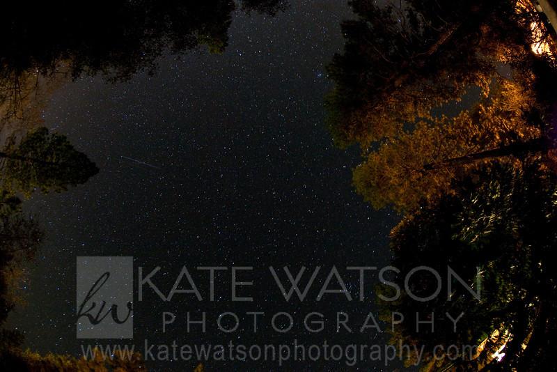 Night sky, Pine Mountain Lake