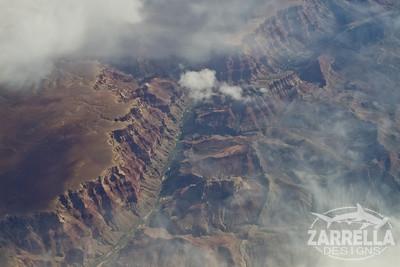 Flying over Grand Canyon, Arizona