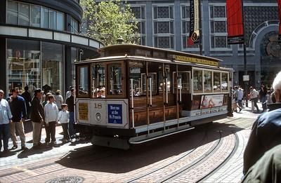 San Francisco: Powell & Mason Street Tram