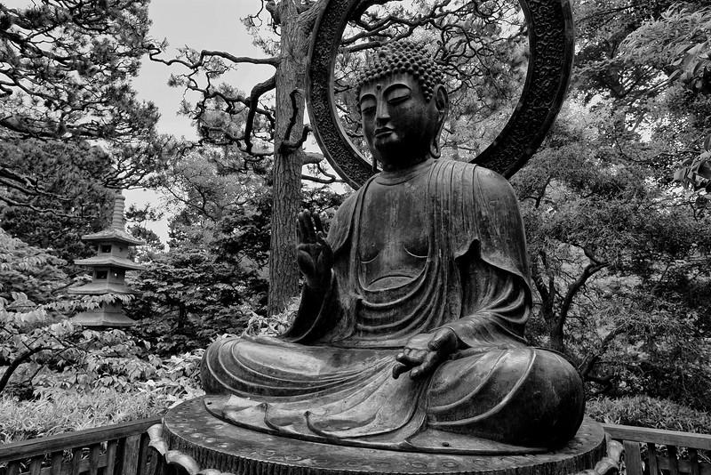 Buddha, Japanese Tea Gardens - San Francisco, CA