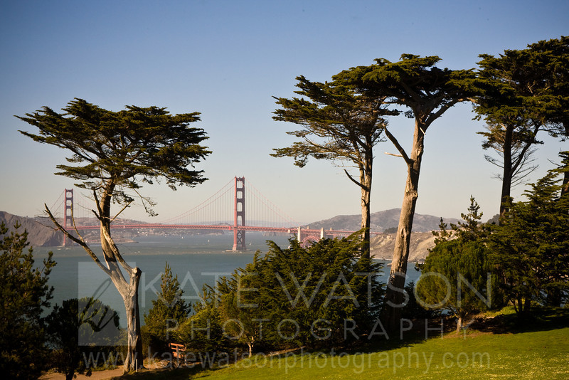 Golden Gate Bridge, Lincoln Park Golf Course