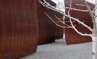 Richard Serra at Seattle Art Museum Sculpture Park