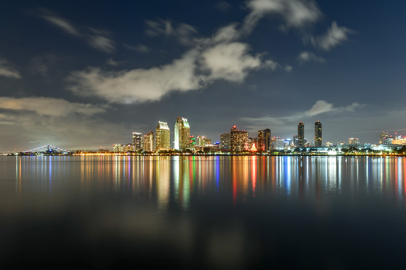 Downtown Skyline at the Embarcadero, San Diego