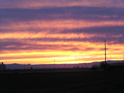 Sunset - Imperial Valley